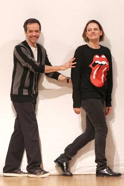 Inacio Ribeiro and Suzanne Clements, designers at Clements Ribeiro