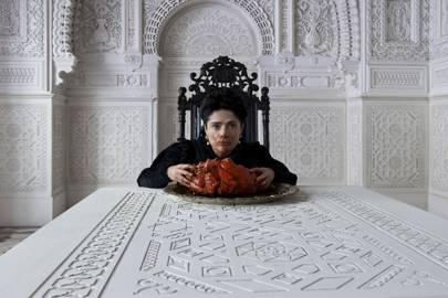Salma Hayek Ate A Giant Serpent's Heart
