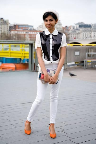Sharmita, fashion graduate
