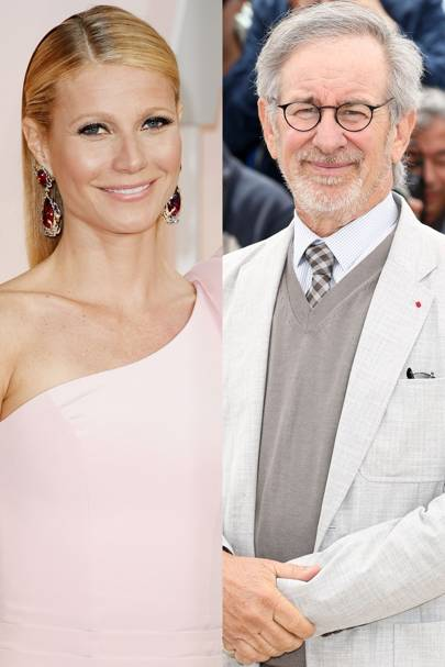Gwyneth Paltrow and Stephen Spielberg