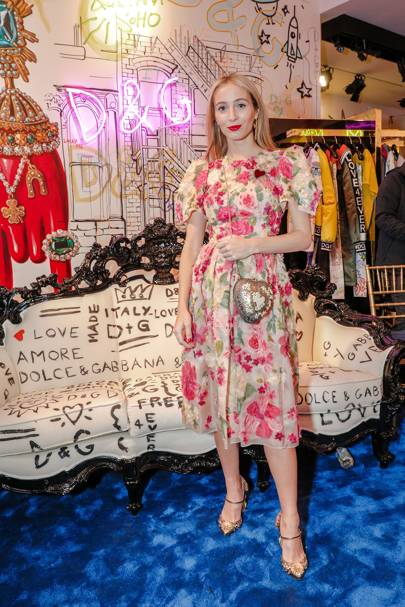 Dolce and Gabbana Mercer Street store opening, New York - April 12 2018