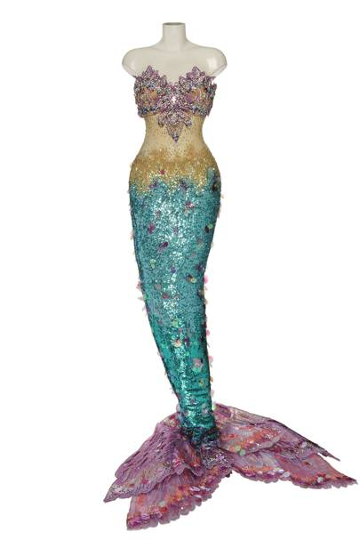 Katy Perry's mermaid costume