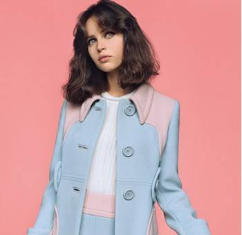 Felicity Jones: February 2014 Issue