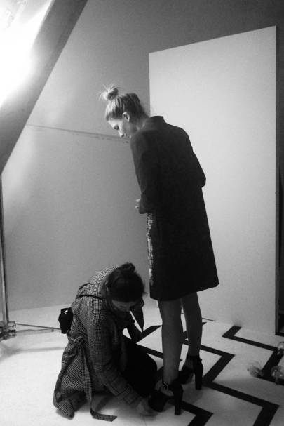Behind The Scenes At Bionda Castana's Spring/Summer 2013 Campaign