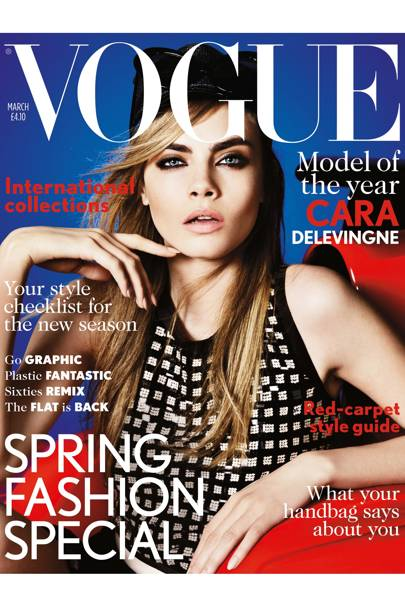 Vogue cover, March 2013