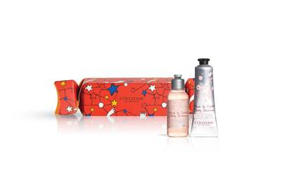 L'Occitane Cherry Blossom Christmas Cracker