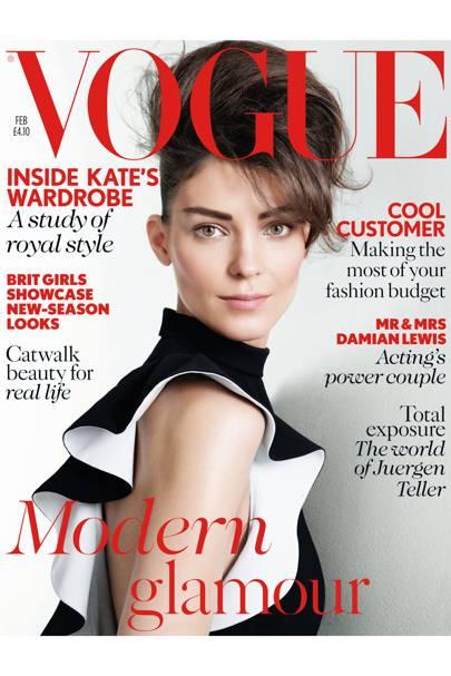 Vogue cover, February 2013