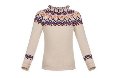 Loewe's fair isle sweater