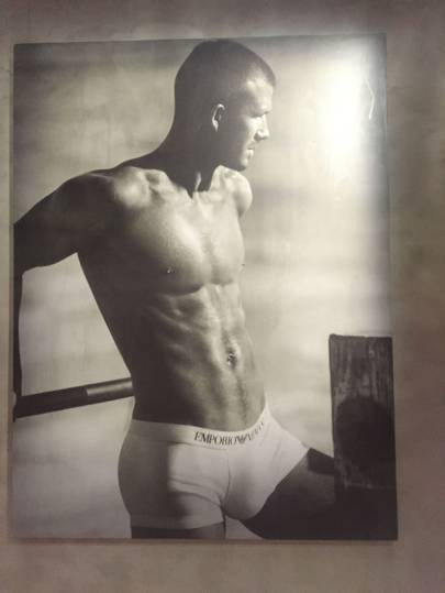 David Beckham shot by Mert and Marcus in 2008.