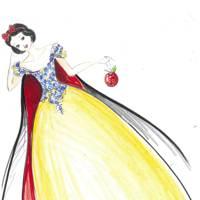 Snow White by Oscar de la Renta
