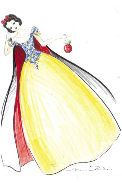 Snow White by Oscar de la Renta