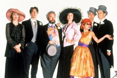 What is the bechdel test movie film feminist rules for Four weddings and a funeral director mike