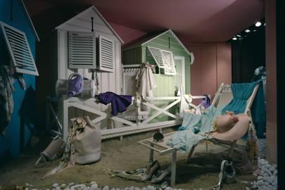 """Cabines de bains"", summer 1979"