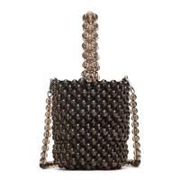 Zara: beaded bucket bag