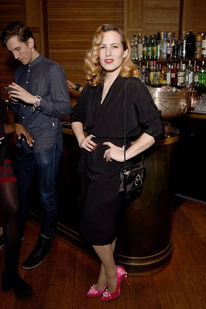 The Charlotte Olympia after-show party - February 19 2017