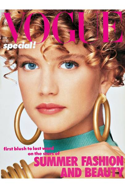 Vogue cover, June 1986