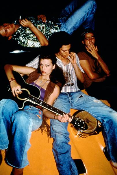 Milla Jovovich in Dazed and Confused