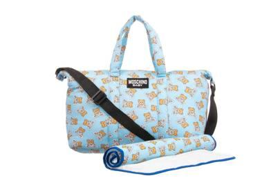 Moschino bear-print changing bag