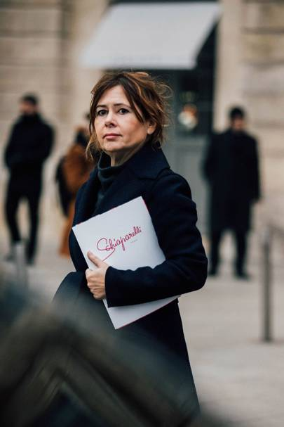 Current British Vogue editor-in-chief Alexandra Shulman