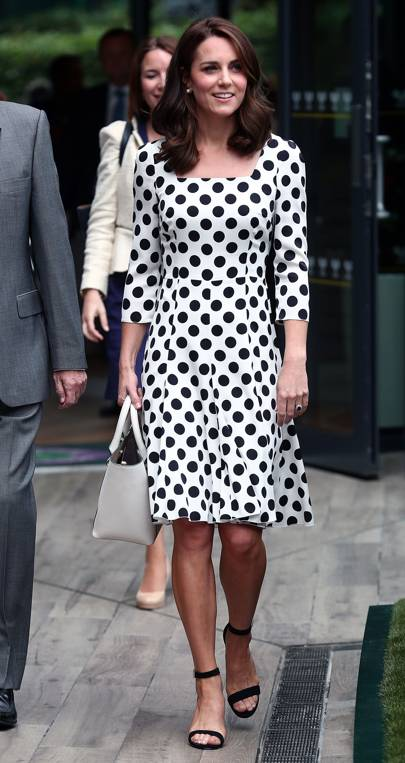The Duchess at Wimbledon in Dolce & Gabbana