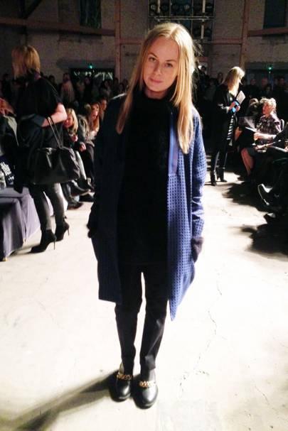 Thora Valdimarsdottir, fashion editor