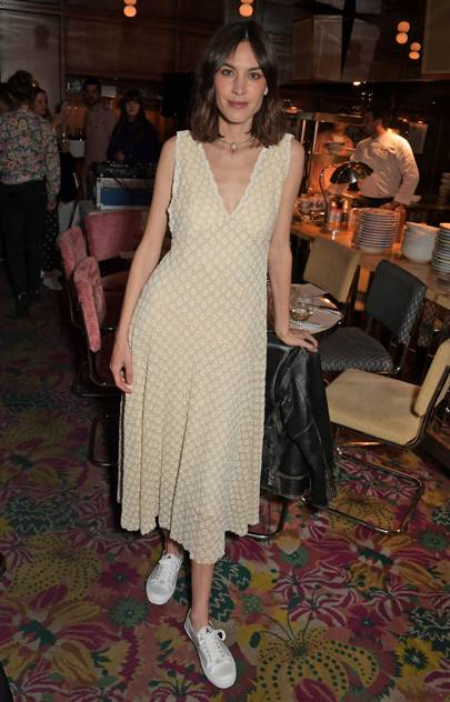 Alexa Chung x Superga Summer Launch Dinner, London - April 2 2019