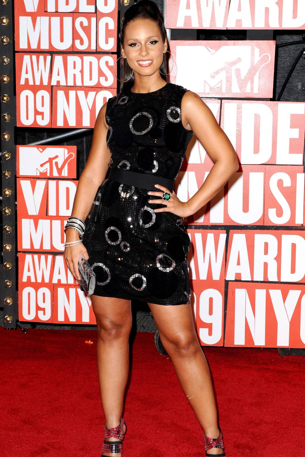 b08c63e8 Red carpet fashion and style at the 2009 MTV Video Music Awards | British  Vogue