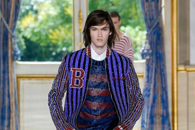 2b0b1e2b7fd8 Balmain Spring/Summer 2019 Menswear show report | British Vogue