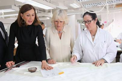 The Duchess, Catherine Riviere and Dior seamstresses