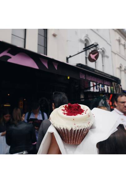 Be indulgent at The Hummingbird Bakery