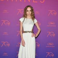 11. Lily-Rose Depp in Chanel
