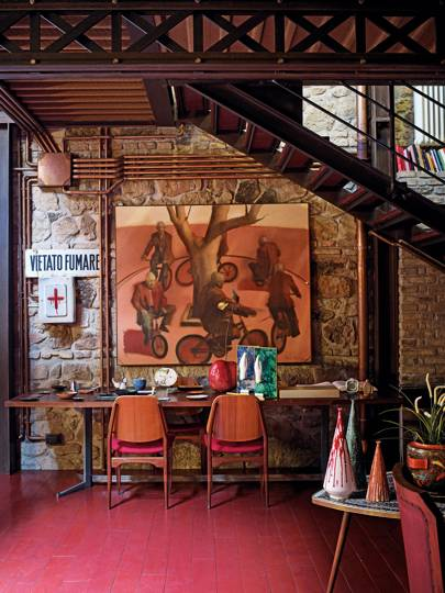 "Image result for ""The Eye Comes First"": Inside Delfina Delettrez Rome House"