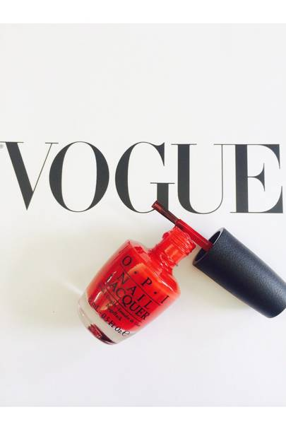 OPI's Vogue Monogram Mani