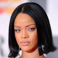 Rihanna's Lilac Eyes