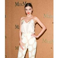 Max Mara Accessories campaign launch, New York – July 15 2014