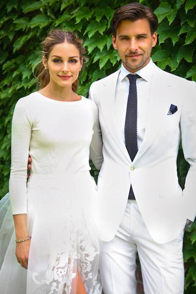 Olivia Palermo Wedding Dress Carolina Herrera | British Vogue