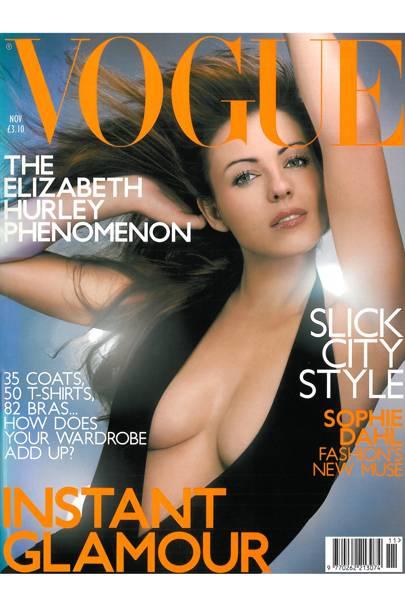 Vogue cover, November 2000