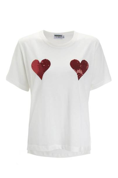 Sequin heart T-shirt, £45