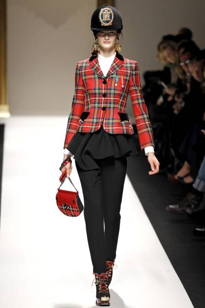 d61a1cbcf497 Moschino Autumn Winter 2013 Ready-To-Wear show report   British Vogue