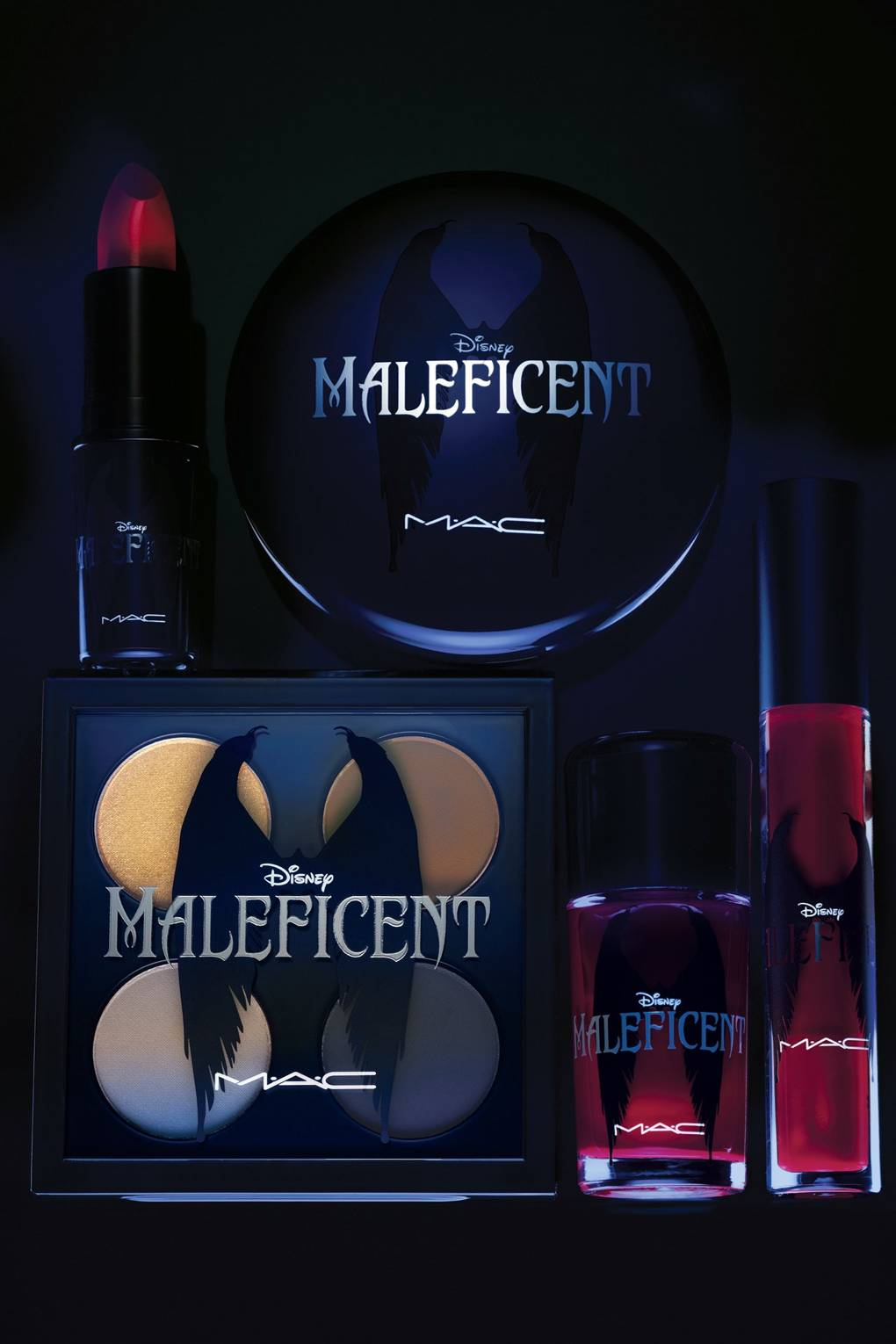 d50b5d00d6c MAC Maleficent Make-Up Collection Photos - Angelina Jolie | British Vogue