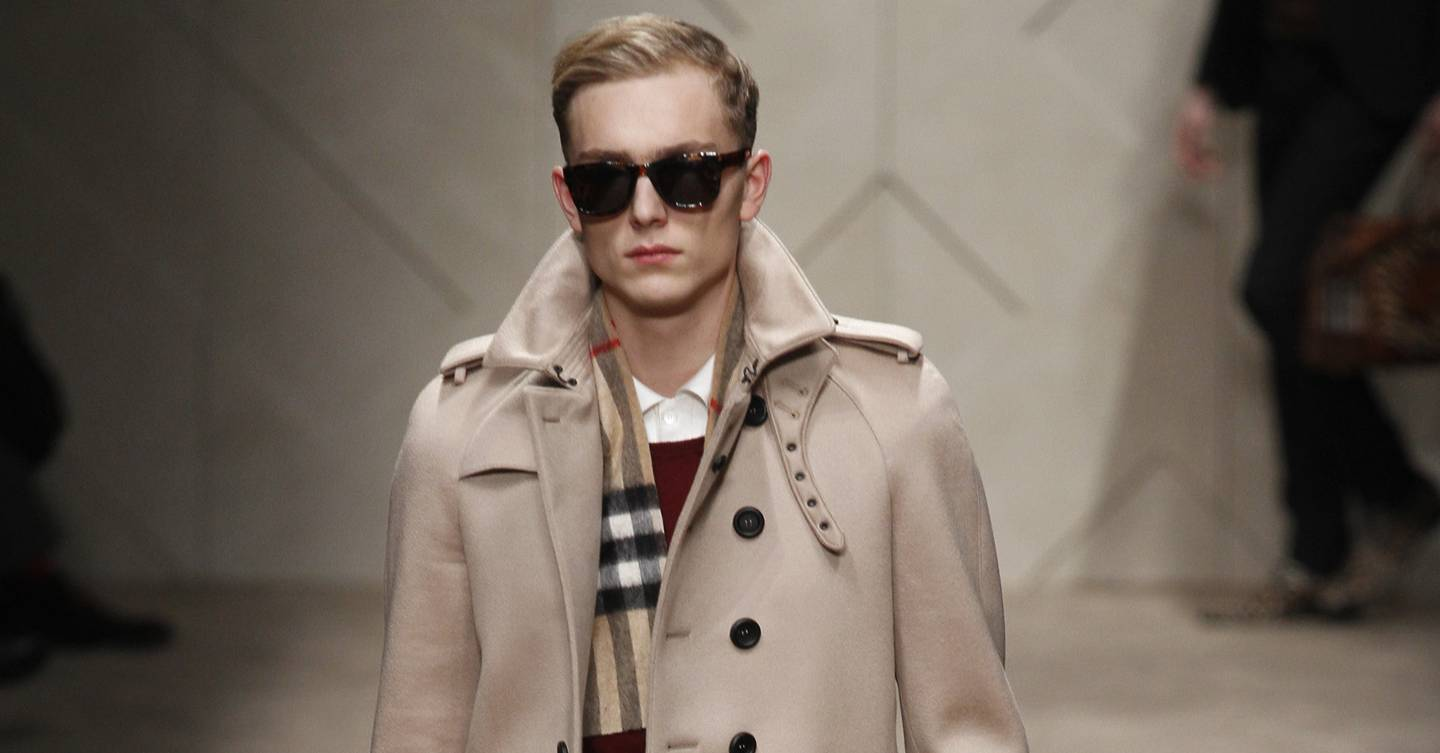 984f2de2e846 Burberry Prorsum Autumn Winter 2013 Menswear show report