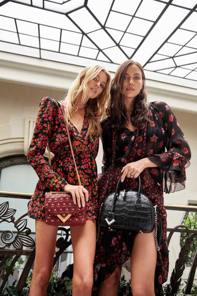 Irina Shayk And Stella Maxwell Collaborate With The