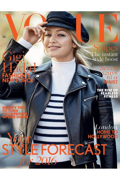 Vogue cover, January 2016