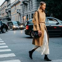 3. Do understated chic in a trench coat
