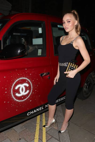 Chanel N°5 L'Eau Red Limited Edition Launch Party, Annabel's - November 13 2018
