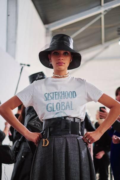 7f59a110fb23 How The Teddy Girl Inspired Maria Grazia Chiuri s AW19 Dior Collection