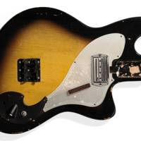 Nirvana's Smashed Guitar