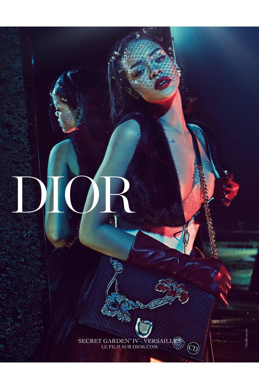 82422a0c464 Rihanna s Fashion Collaborations Campaigns - Dior