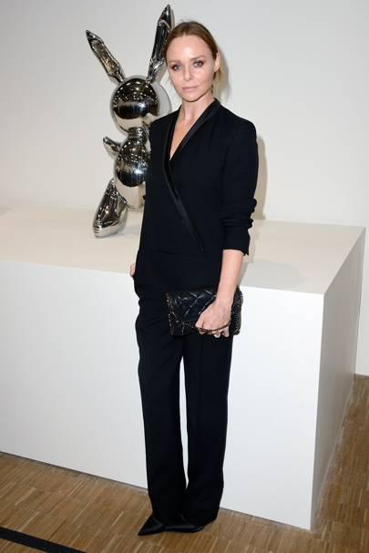 Jeff Koons Retrospective Opening, Paris - November 24 2014