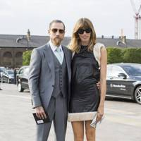Justin O'Shea, buying director and Veronika Heilbrunner, style editor